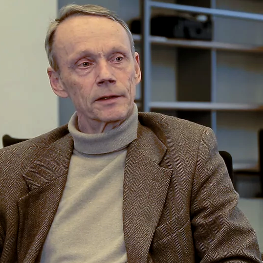 Peter J. Katzenstein im Gespräch