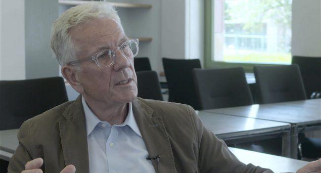 Volker Hauff im Gespräch